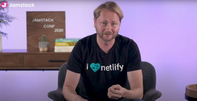 Matt Biilmann, co-founder and CEO of Jamstack company Netlify