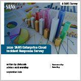 2020-SANS-Enterprise-Cloud-Incident-Response-Survey