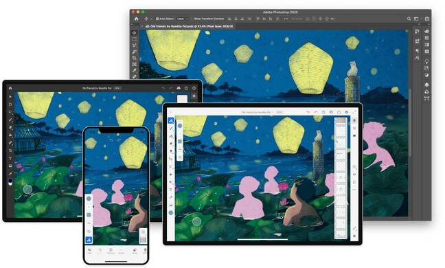 Adobe Fresco 2.0 has new features and a new platform, Apple's iPhone