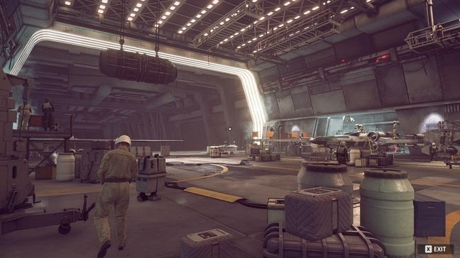 New Republic hangar