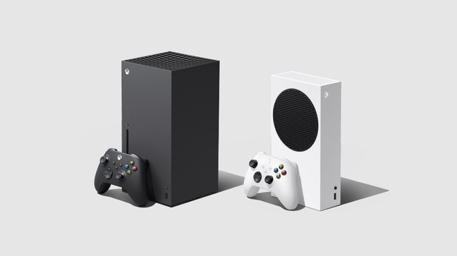 Xbox Series X (left) and Series S