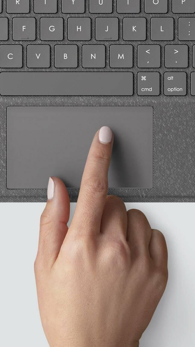 combotouch keyboard trackpad logitech