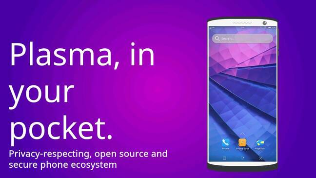 Plasma Mobile is a project to bring Plasma to smartphones.