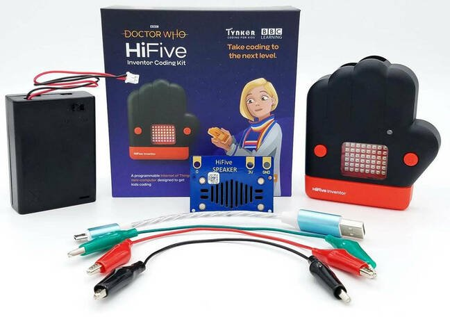 Contents of the HiFive Inventor box