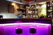 bar in a nightclub
