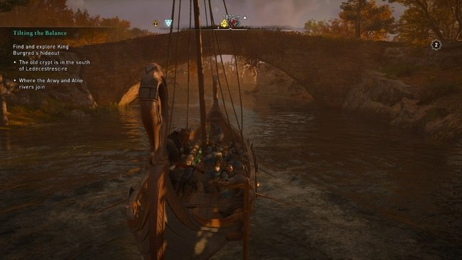 Oh no, a bridge! No problem, just take the mast down