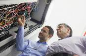 Working in data centre