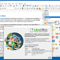 LibreOffice 7.1 beta introduces new features including outline folding in Writer