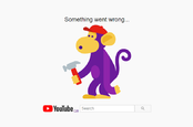 YouTube broken monkey