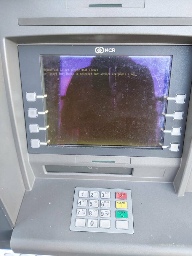 borked atm