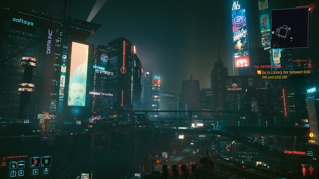 There's no doubt that Night City can be beautiful