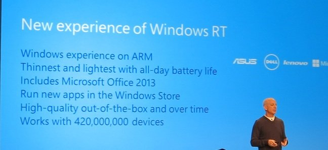 'Windows experience on ARM' long before Apple: This was Windows RT in 2012, shame about the dismal lack of 'new apps'