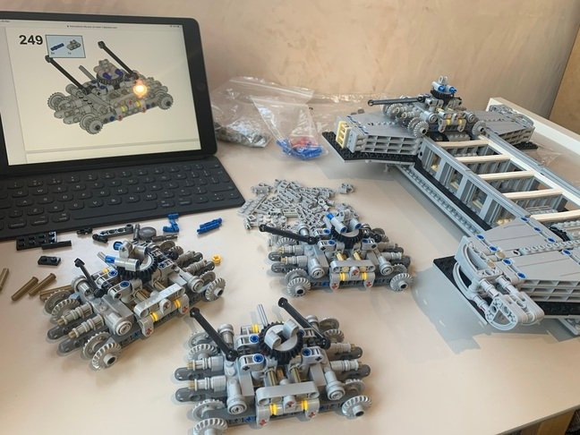 Lego in progress