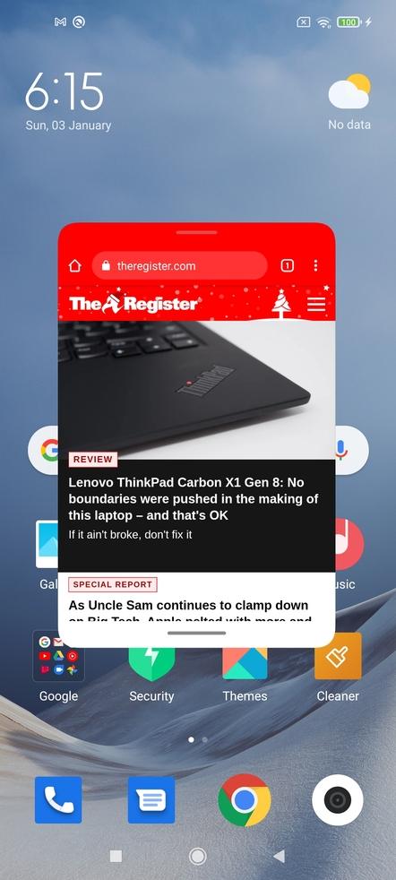 Xiaomi 10T Pro MeUI