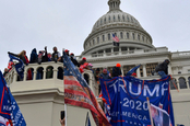 Trump supporters protest in Capitol