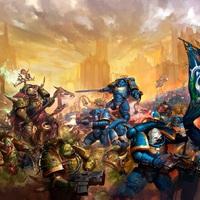 Warhammer 40k art