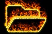 Burning folder