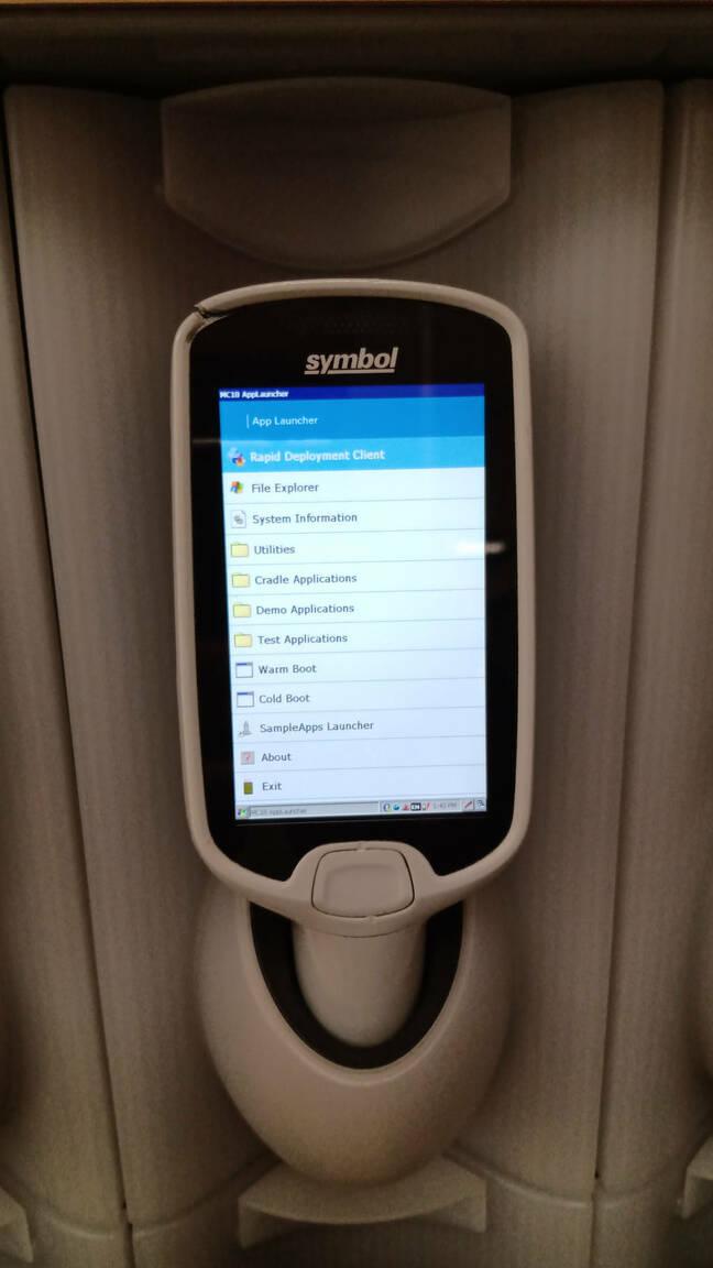 tesco self scanner borkage