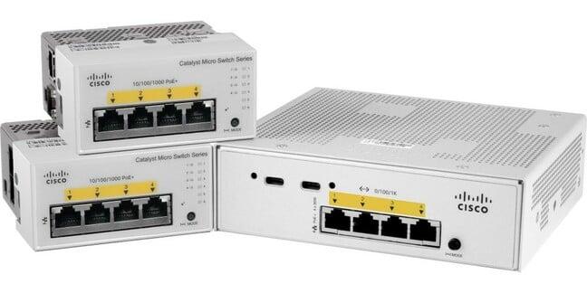 Cisco Catalyst Micro switches