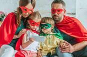 Smartphone superheroes