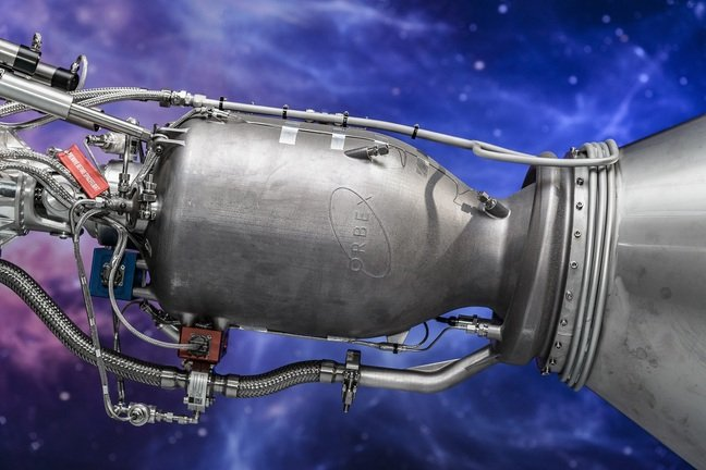 Orbex 3D-printed rocket engine in Stage 2 rocket engineering prototype
