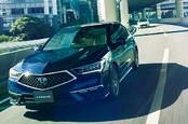 Honda Legend with SENSING ELITE L3 autonomy kit