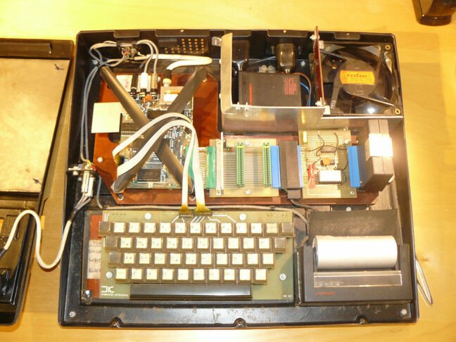 DIY conversion kit ZX1. Pic courtesy The National Museum of Computing (TNMOC)