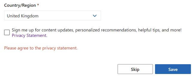 Microsoft Q&A checkbox