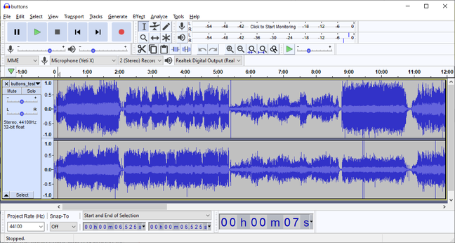 Audacity 3.0 has a new 'unitary' file format for projects