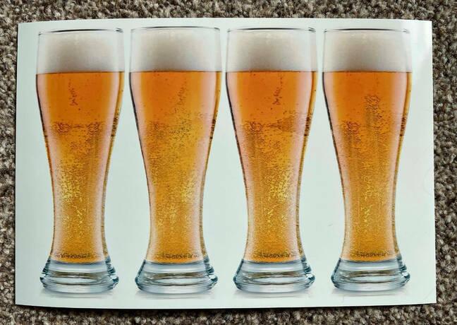 print beer