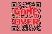 Game Over QR code