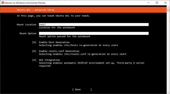 The new installer for Ubuntu includes an option for 'Legacy GUI Integration' but it is not full official support yet