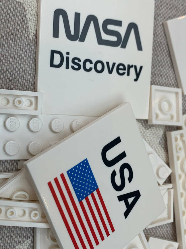 Discovery shuttle set - preprints