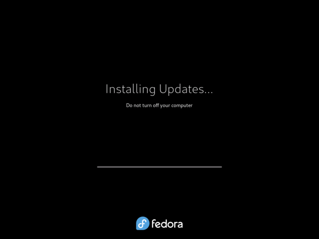 There is something alarmingly Windows-like in the way Fedora Workstation demands to be rebooted to install OS updates