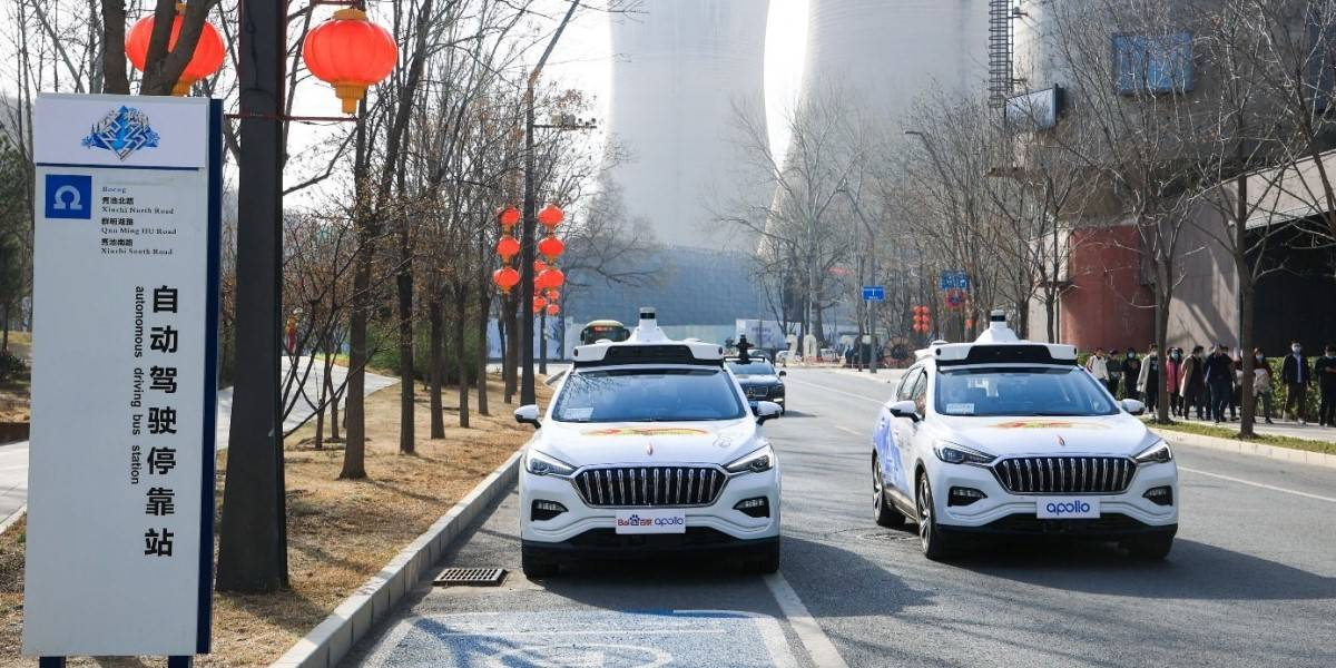 photo of Robo-taxis hit the streets of Beijing – albeit a small fleet in a geo-fenced suburb image