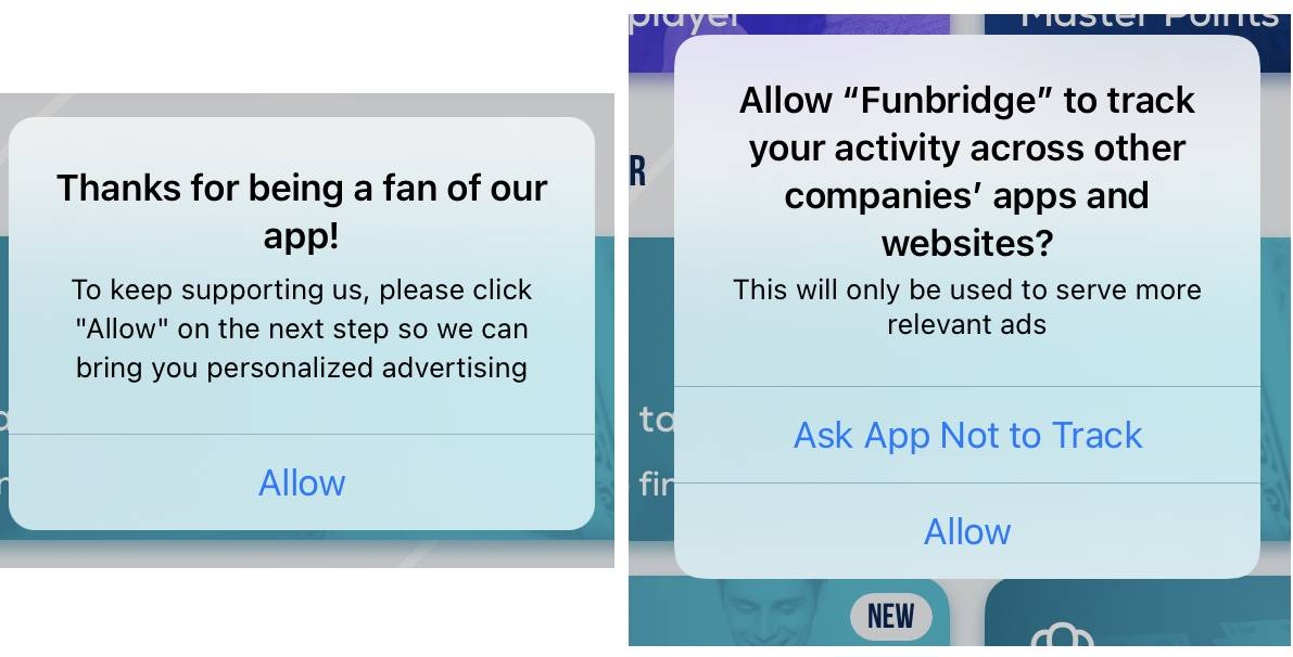 App Tracking: Apps plead for users to press allow, but 85% of Apple iOS consumers are not opting in