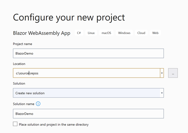 Blazor WebAssembly apps will now be compiled direct to Wasm rather than running as .NET intermediate language on a Wasm .NET runtime.