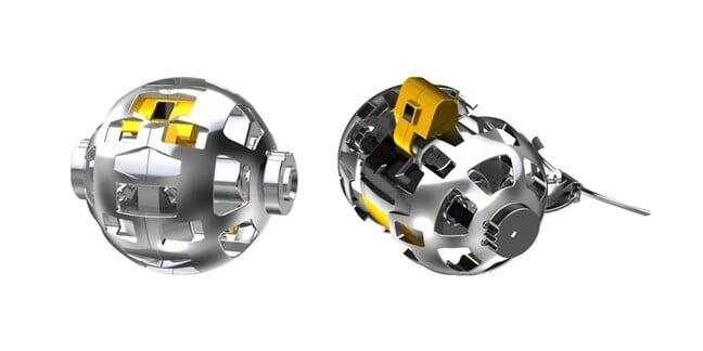 JAXA transforming moonbot. Copyright JAXA, TOMY Company, Sony Group Corporation and Doshisha University.