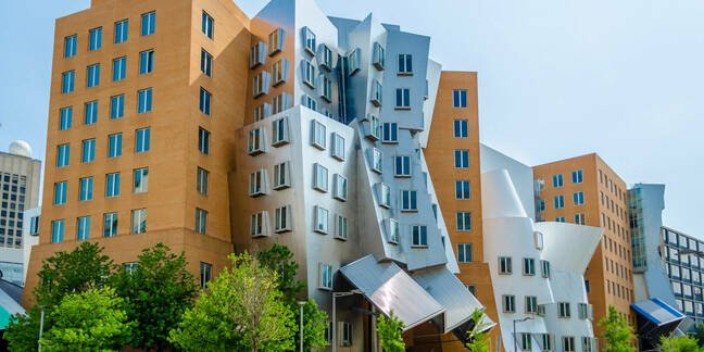 The Stata Center at MIT