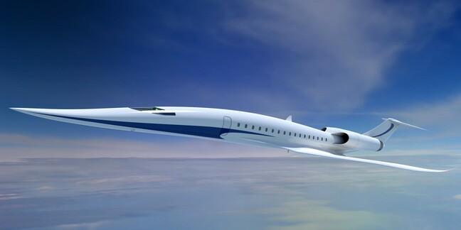 JAXA Supersonic plane concept © JAXA
