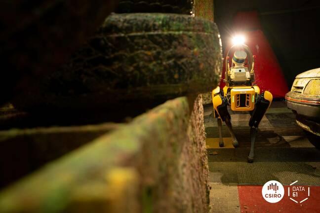 CSIRO's Bingo robot with Wildcat autonomy system