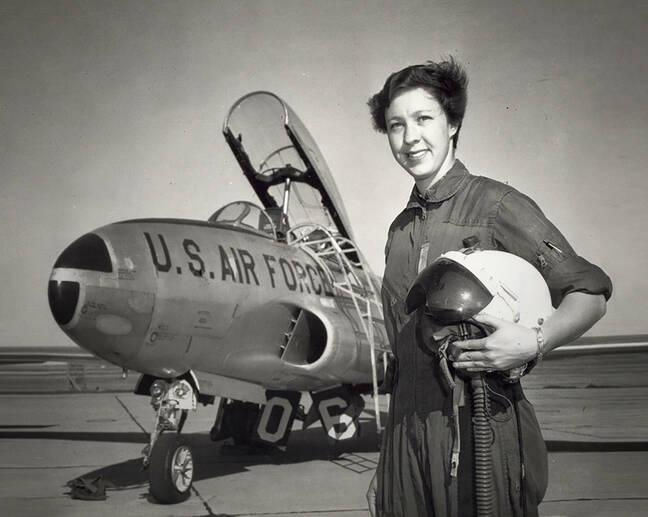 Membre de Mercury 13, l'aviateur américain Wally Funk