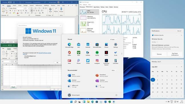 Raspberry Pi 400 sous Windows 11 et Office