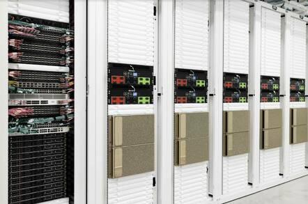 Part of Nvidia's Cambridge-1 supercomputer