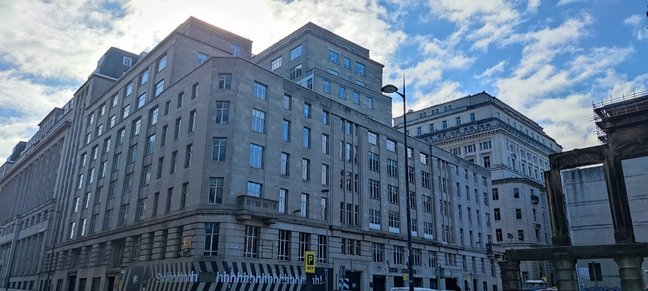 Built in 1939, Derby House is an unlikely candidate for the building in which WW2 was won