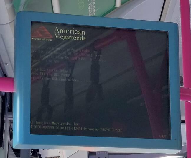 BIOS boot screen
