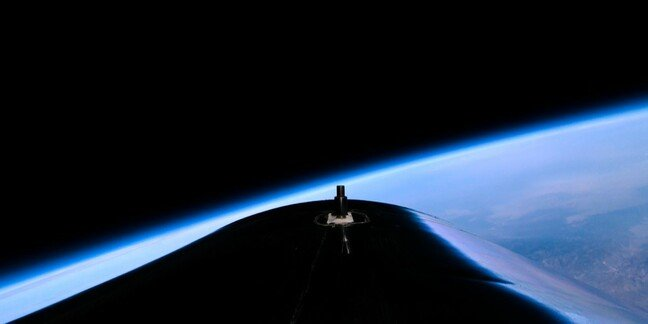VSS Unity tailcone view from space #Unity22