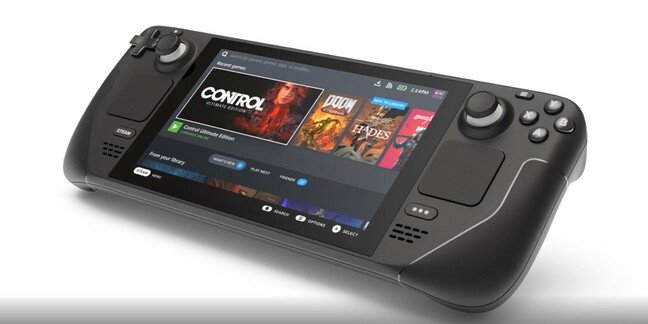 Steam Deck portable gaming PC