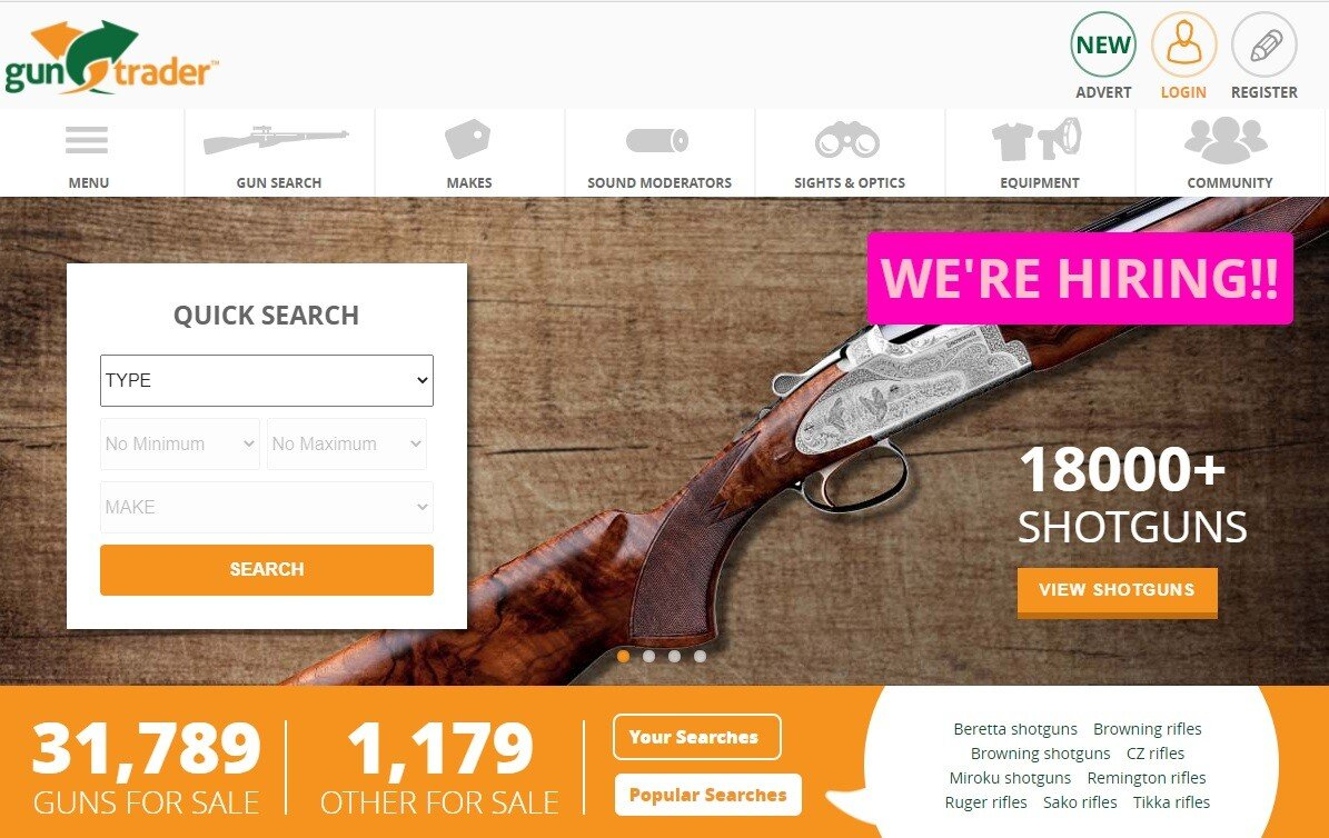 theregister.com - Gareth Corfield - Hole blasted in Guntrader: UK firearms sales website's CRM database breached, 111,000 users' info spilled online