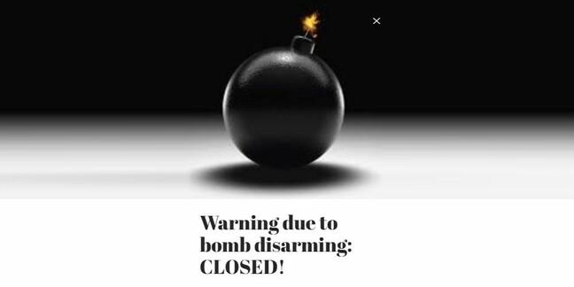 Masco.hu bomb warning